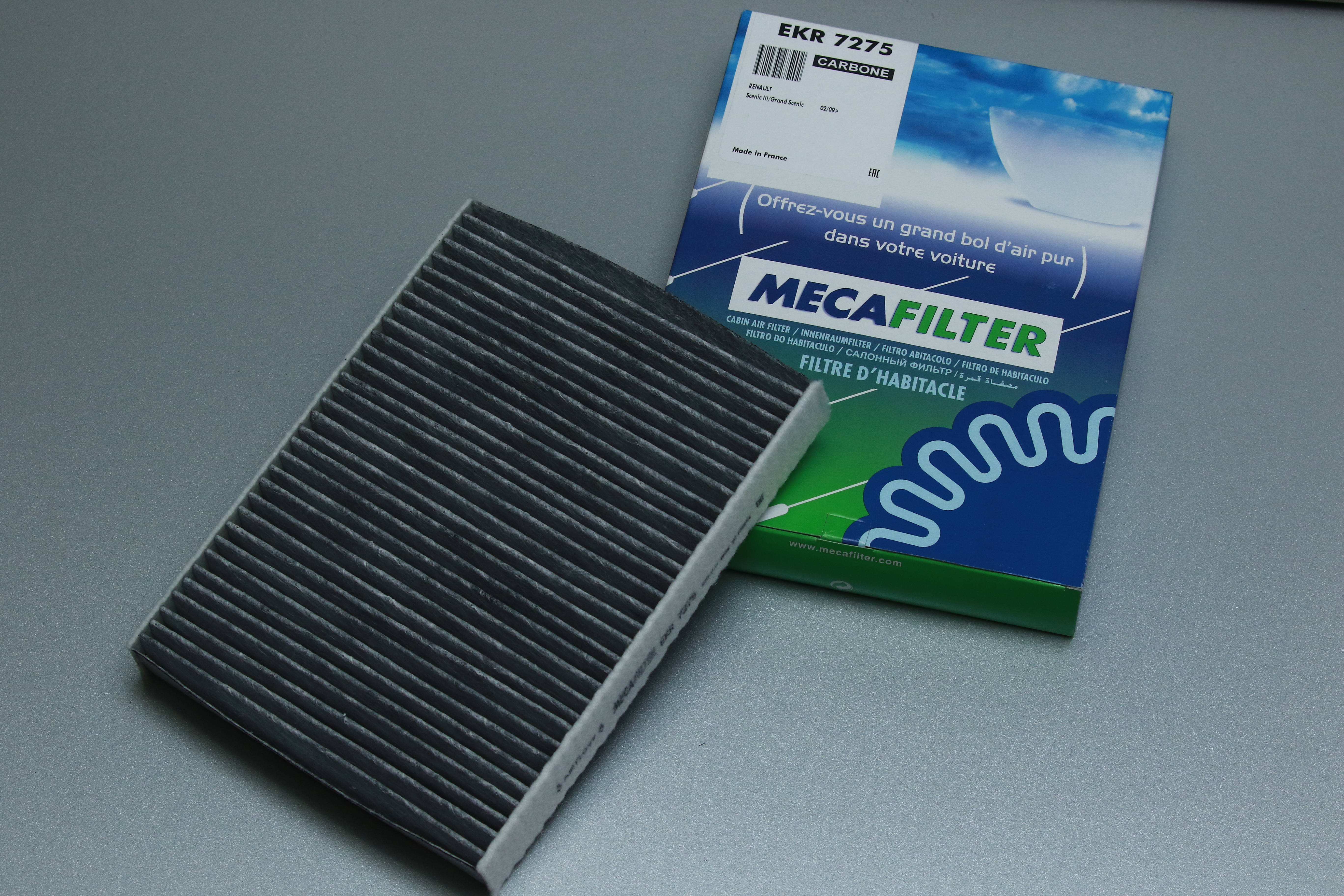 Filter klime Renault Scenic III-Traffic II Carbon